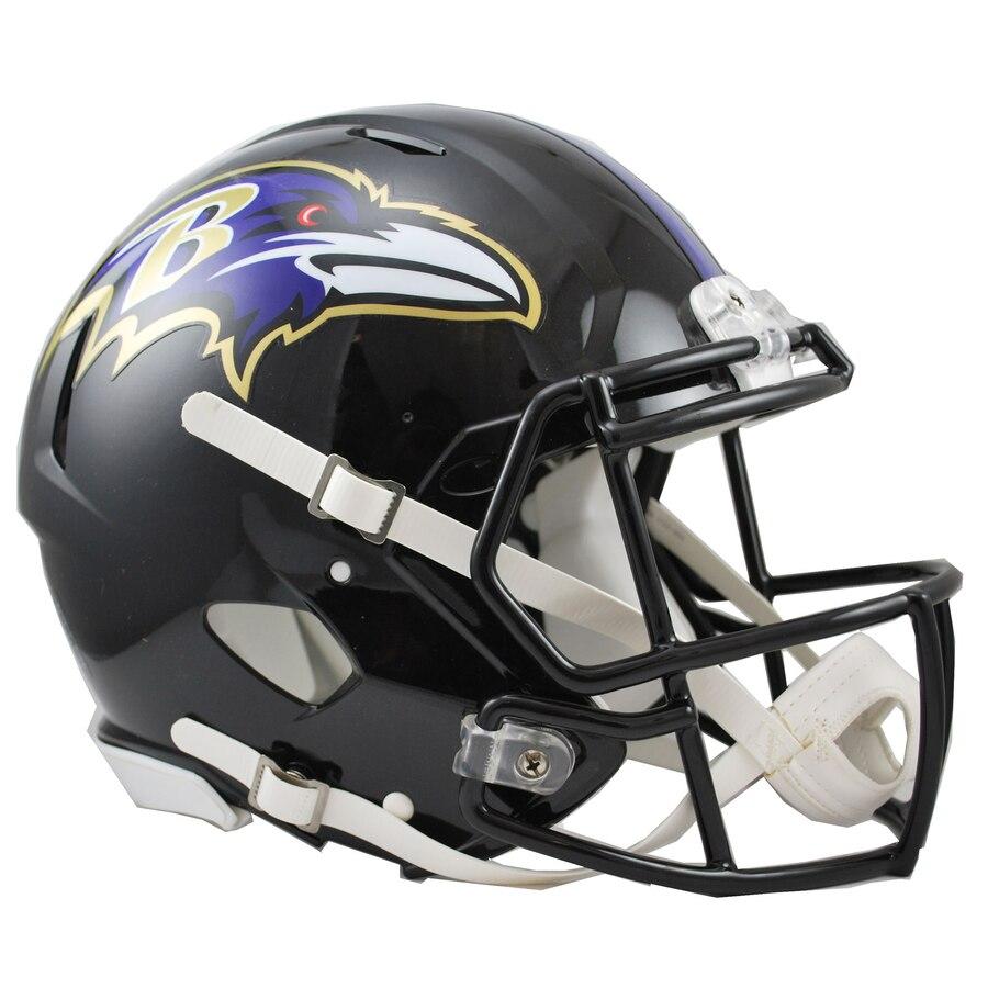 Baltimore Ravens Football Helmets
