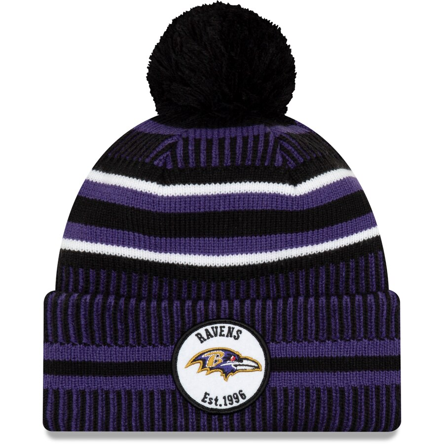 Baltimore Ravens Knit Hats