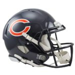 Chicago Bears Football Helmets