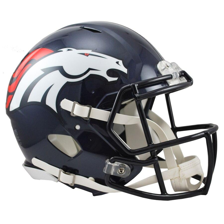Denver Broncos Football Helmets