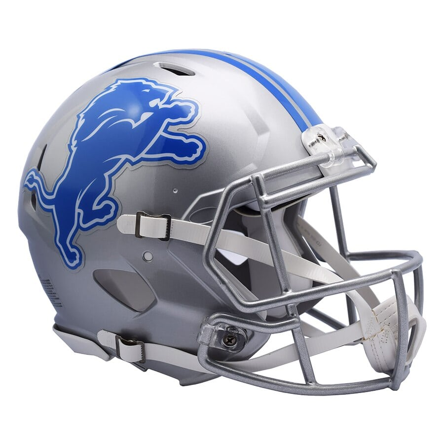 Detroit Lions Football Helmets