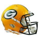 Green Bay Packers Football Helmets