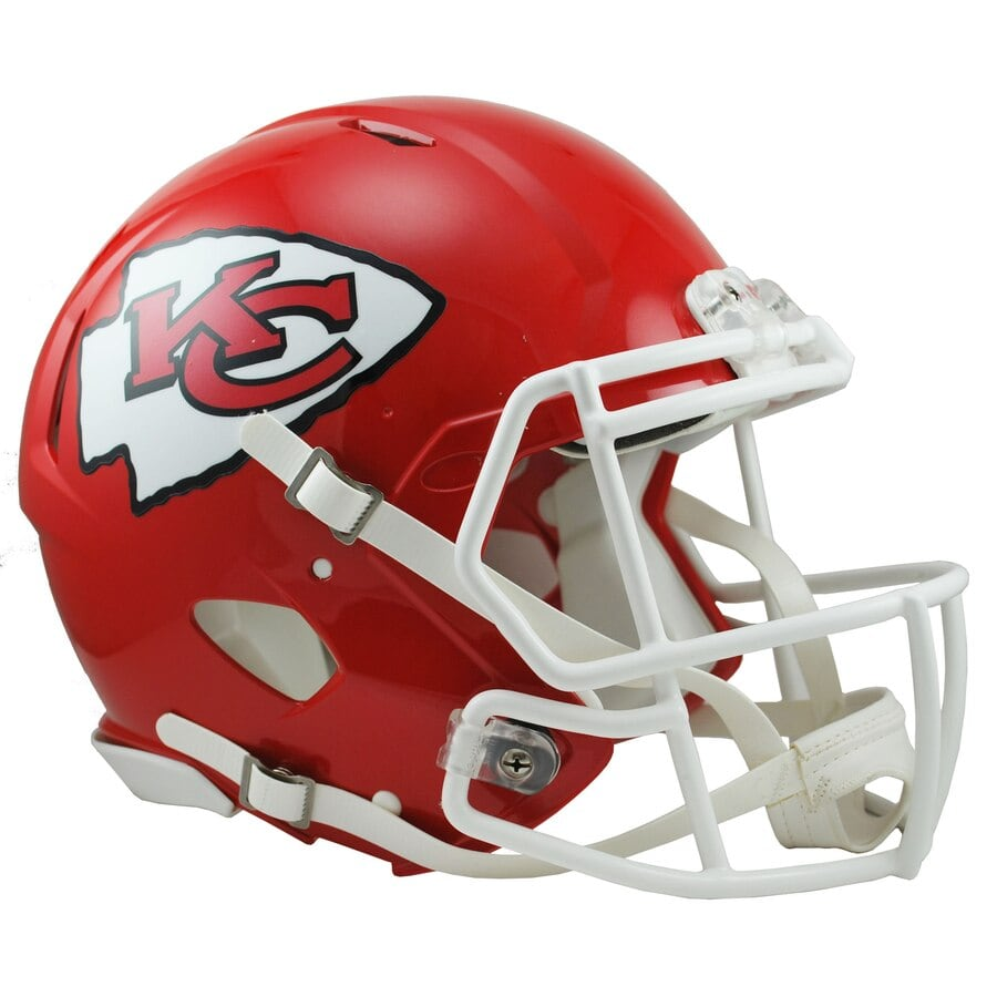 Kansas City Chiefs Football Helmets