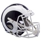 Los Angeles Rams Football Helmets