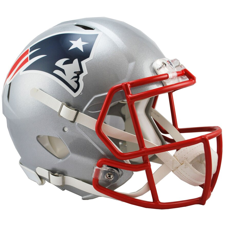 New England Patriots Football Helmets