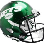 New York Jets Football Helmets