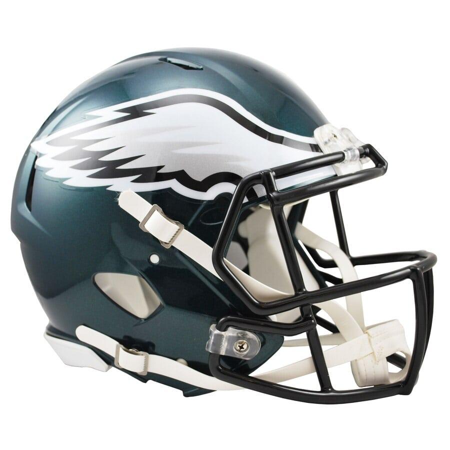 Philadelphia Eagles Football Helmets