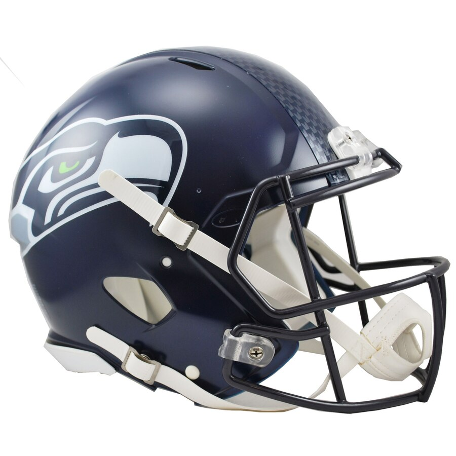 Seattle Seahawks Football Helmets
