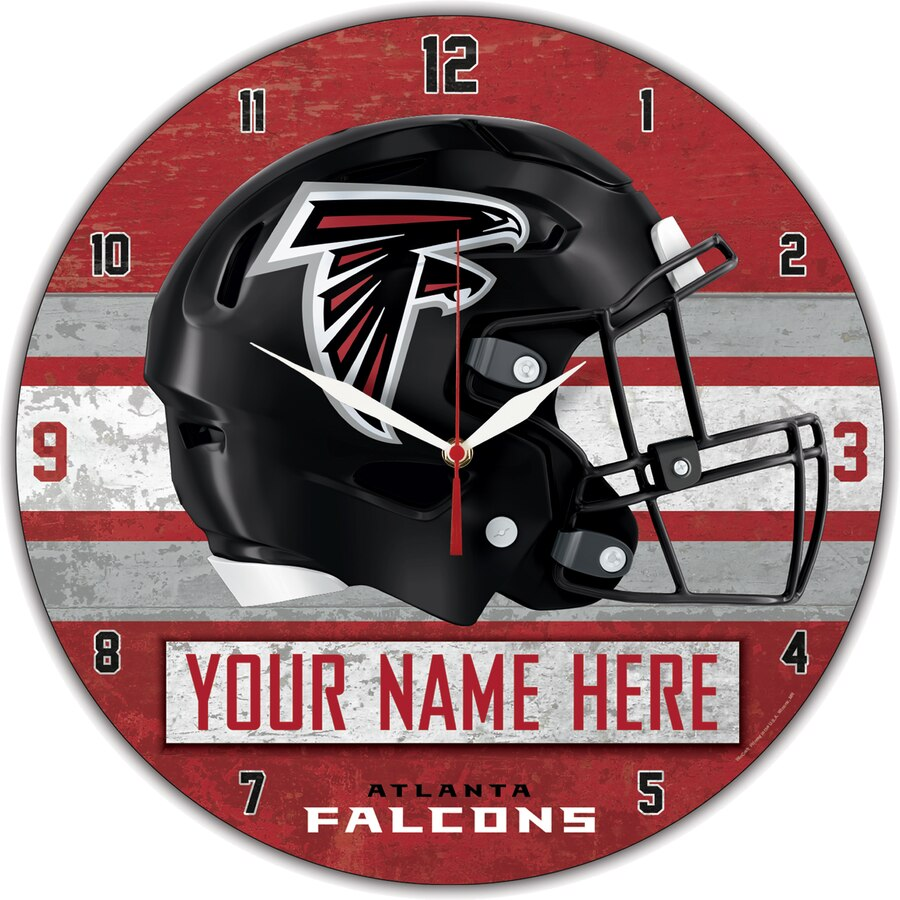 Atlanta Falcons Clock
