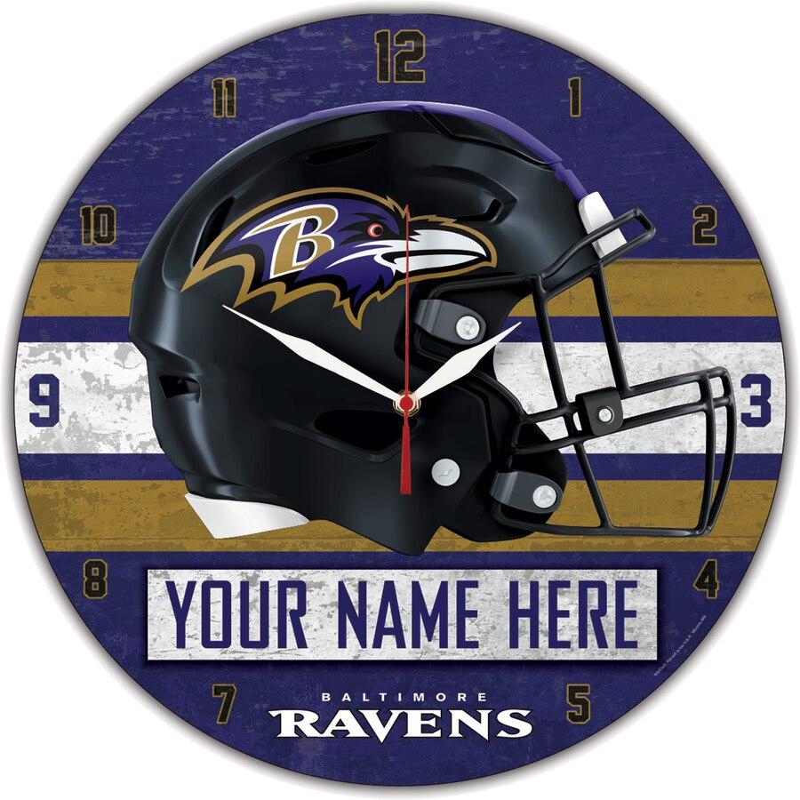 Baltimore Ravens Clocks