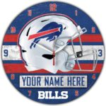Buffalo Bills Clocks