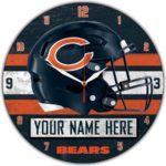 Chicago Bears Wall Clocks