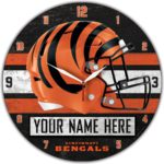 Cincinnati Bengals Clocks