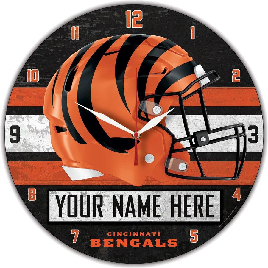 Cincinnati Bengals Clocks