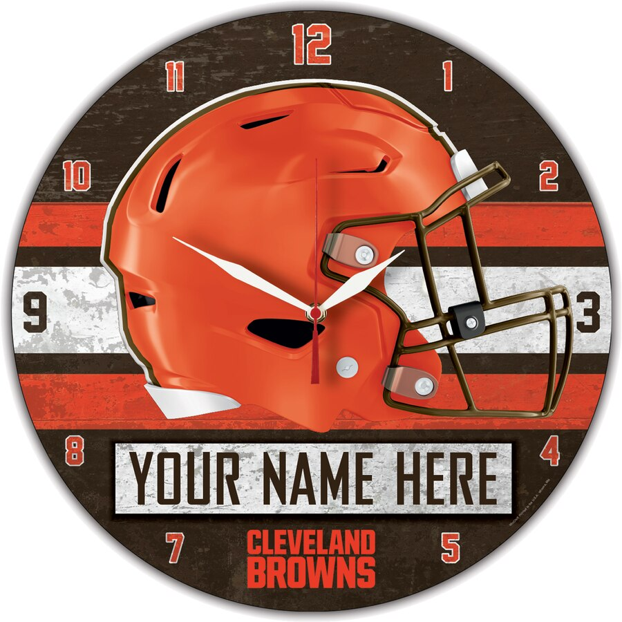 Cleveland Browns Wall Clocks