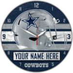 Dallas Cowboys Wall Clocks