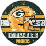 Green Bay Packers Wall Clocks