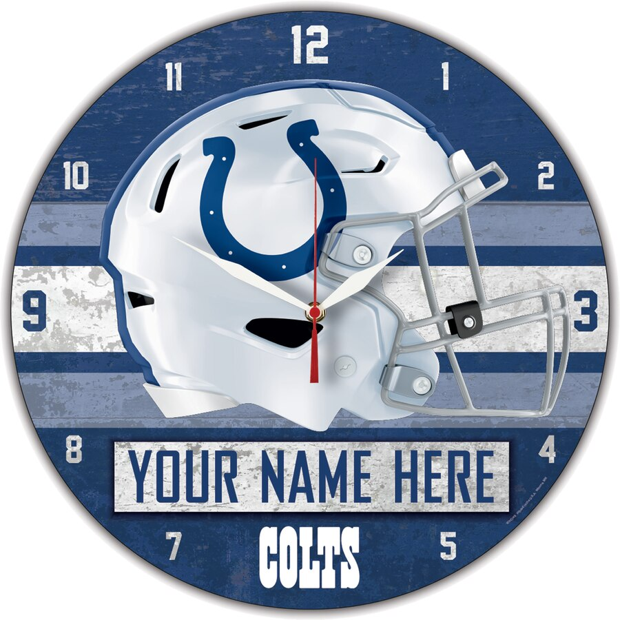 Indianapolis Colts Clock
