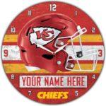 Kansas City Chiefs Clocks