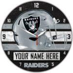 Las Vegas Raiders Clock