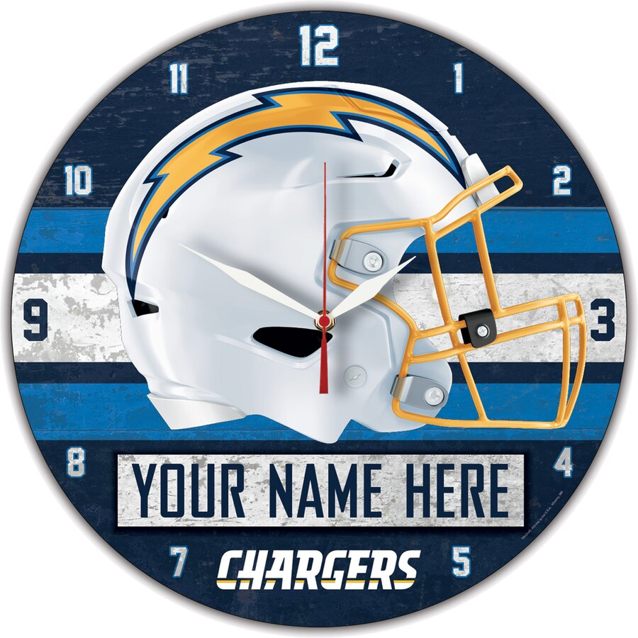 Chargers Wall Clocks