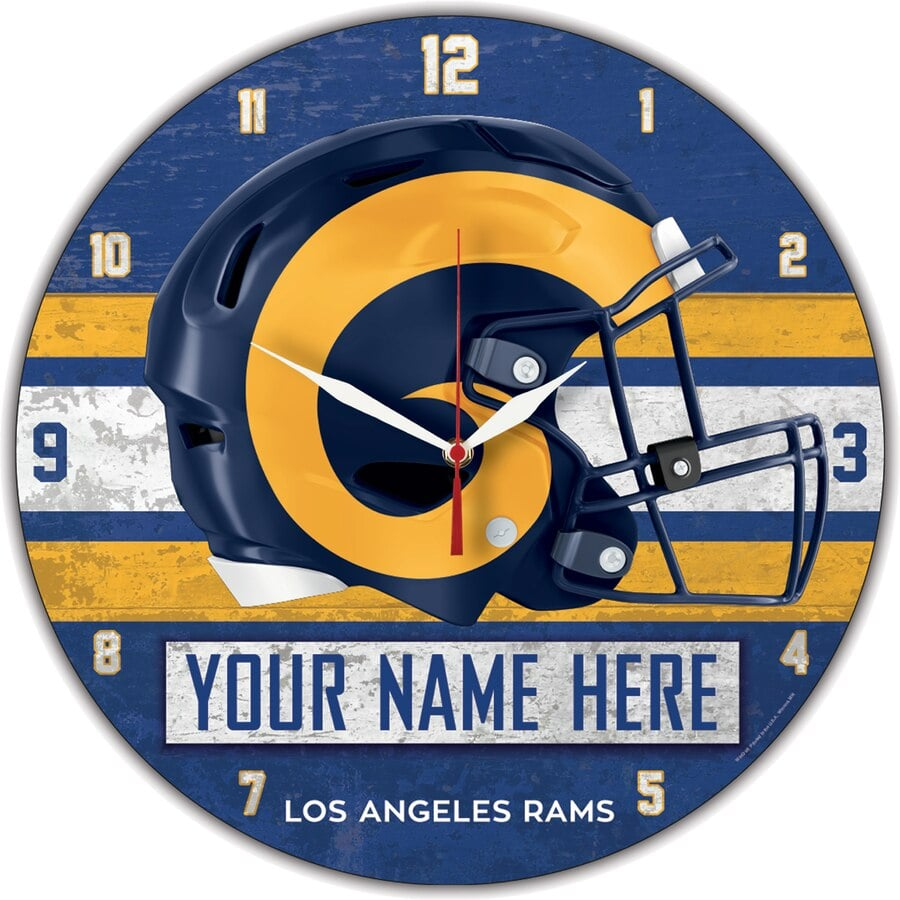 Los Angeles Rams Clock