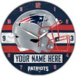 New England Patriots Clocks