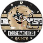 New Orleans Saints Wall Clocks