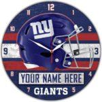 New York Giants Clocks