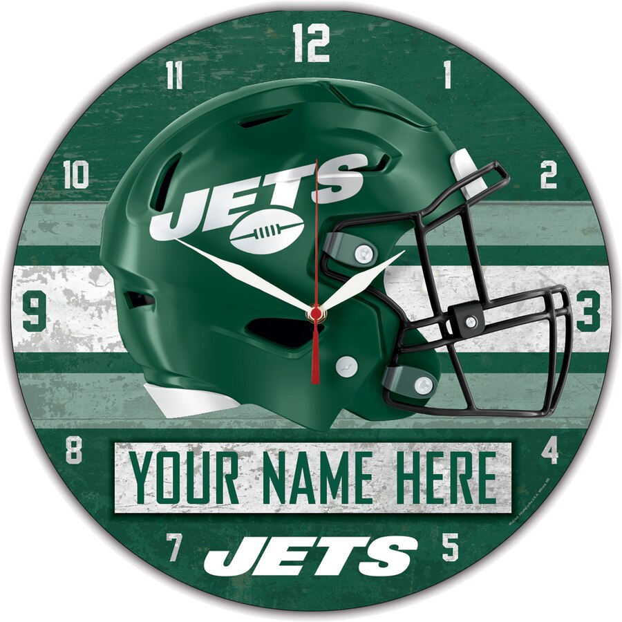 NY Jets Clocks