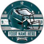 Philadelphia Eagles Wall Clocks