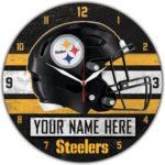 Pittsburgh Steelers Wall Clocks