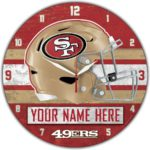 San Francisco 49ers Clocks