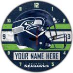 Seattle Seahawks Wall Clocks