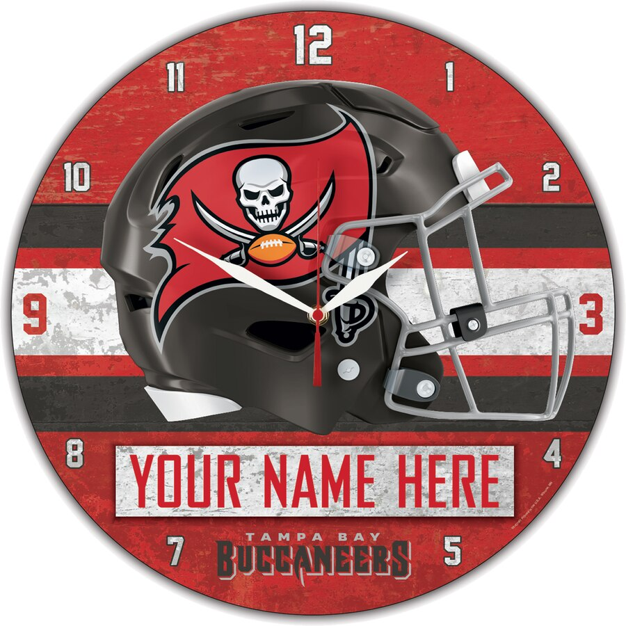 Tampa Bay Buccaneers Wall Clock