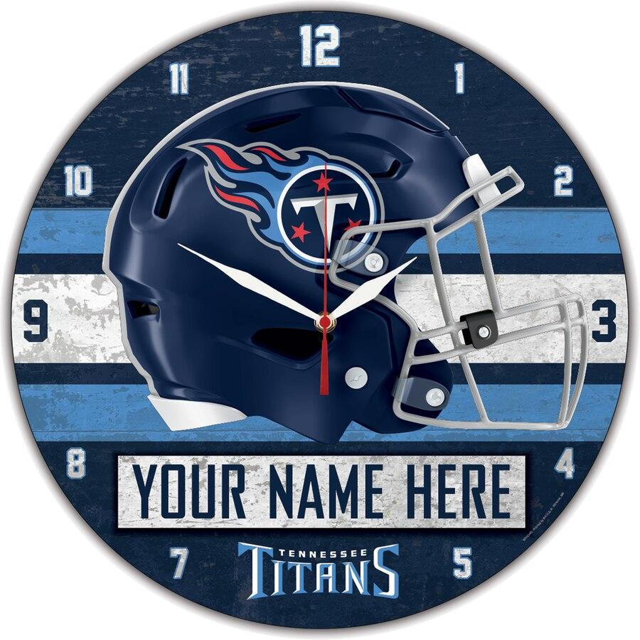 Tennessee Titans Clock