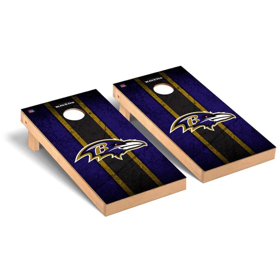 Baltimore Ravens Cornhole Boards