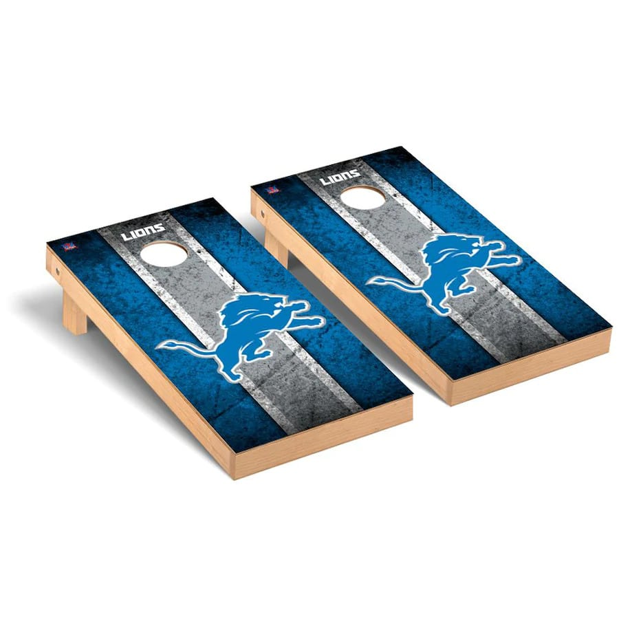 Detroit Lions Cornhole Boards