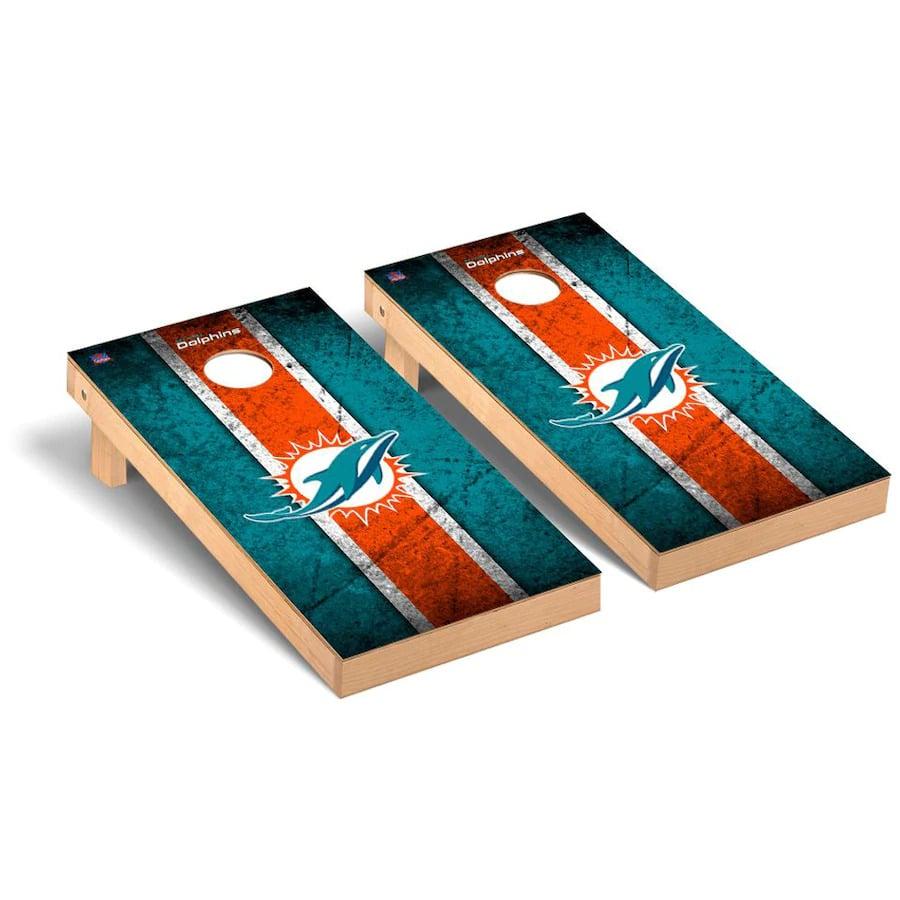 Miami Dolphins Cornhole Boards