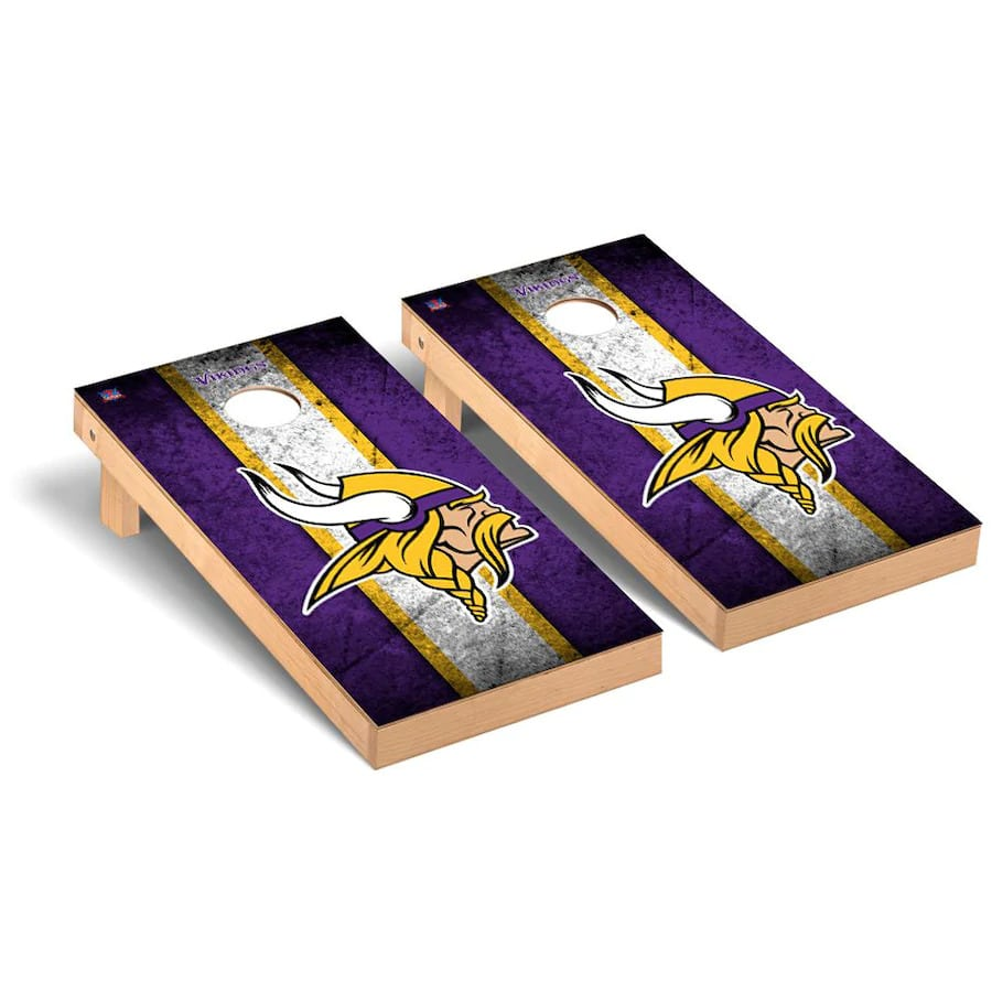 Minnesota Vikings Cornhole Boards
