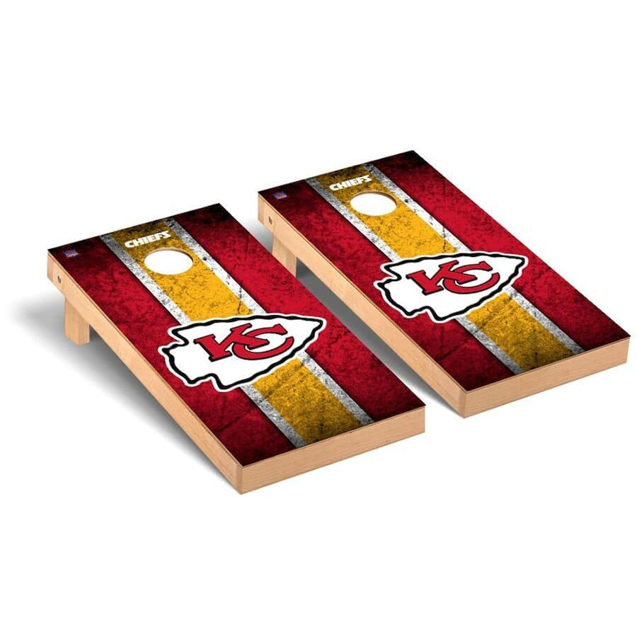 Kansas City Chiefs Cornhole Boards