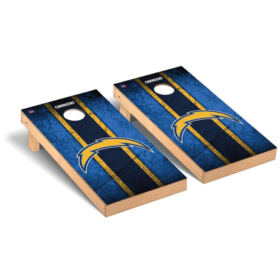 Los Angeles Chargers Cornhole Boards