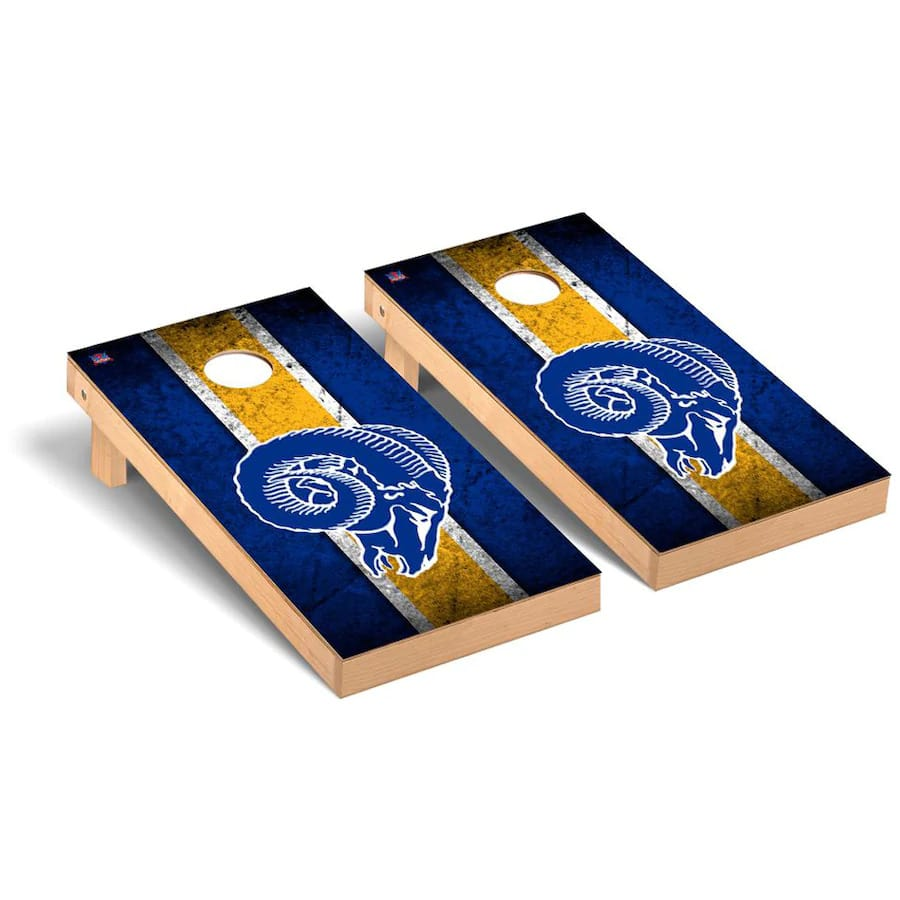 LA Rams Cornhole Boards