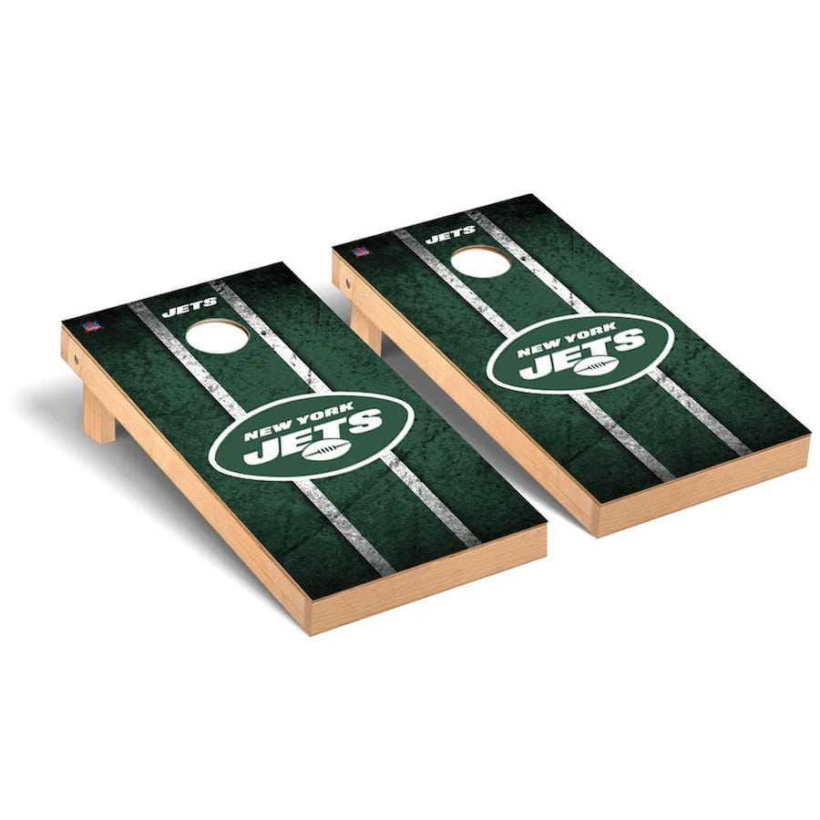 New York Jets Cornhole Boards