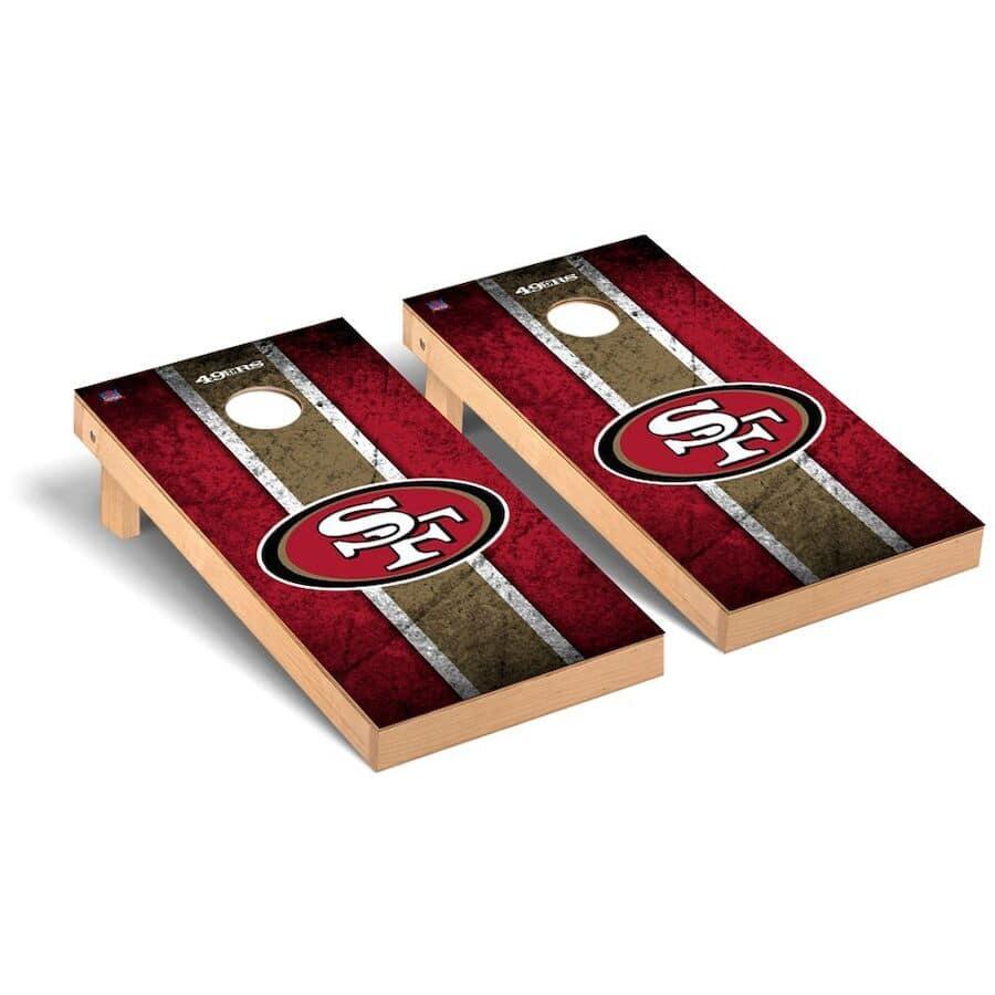 San Francisco 49ers Cornhole Boards