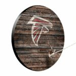 Atlanta Falcons Weathered Design Hook And Ring Game