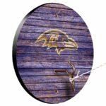 Baltimore Ravens Weathered Design Hook And Ring Game