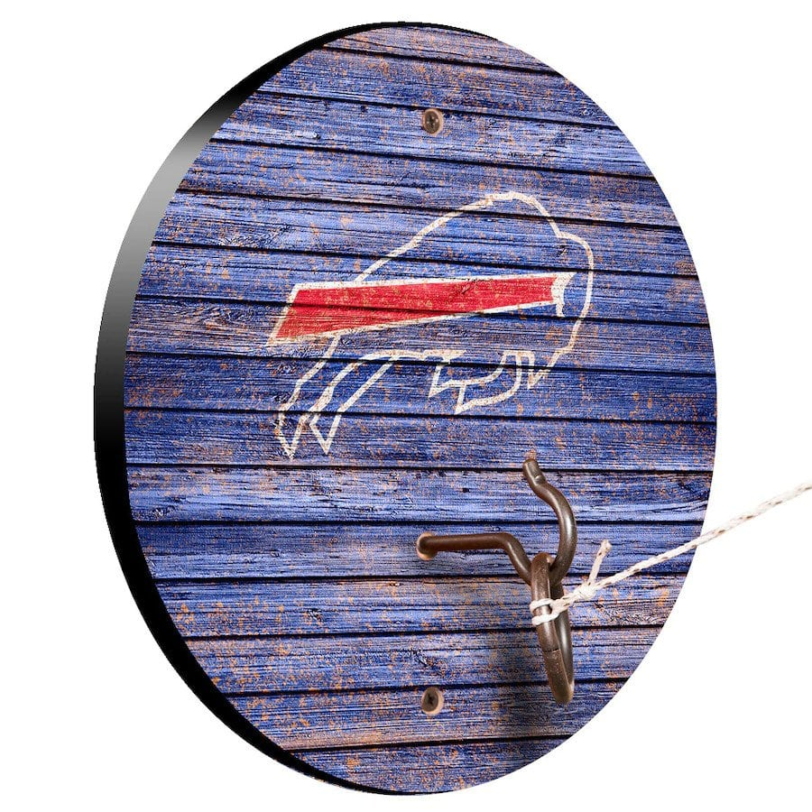 Buffalo Bills Weathered Design Hook And Ring Game