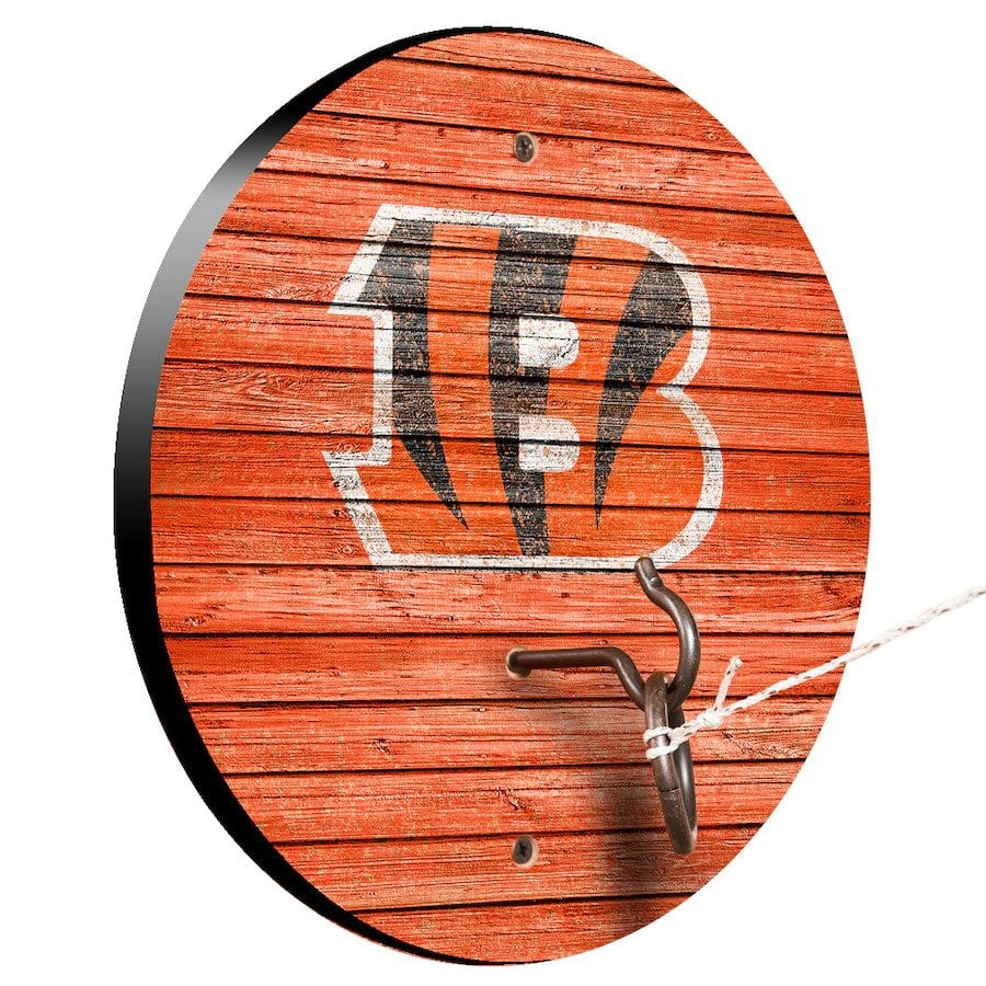 Cincinnati Bengals Weathered Design Hook And Ring Game