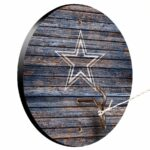 Dallas Cowboys Weathered Design Hook And Ring Game